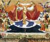 The Coronation of the Virgin completed 1453 by Enguerrand Quarton