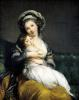 Self portrait in a Turban with her Child 1786 by Marie Elisabeth Louise Vigee-Lebrun