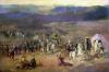 The Capture of the Retinue of Abd-el-Kader 1844 by Emile Jean Horace Vernet