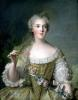 Portrait of Madame Sophie daughter of Louis XV at Fontevrault 1748 by Jean-Marc Nattier