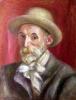 Self portrait 1910 by Pierre Auguste Renoir