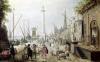 The Ancient Port of Antwerp by Sebastien Vrancx