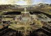 Perspective view of the Chateau Gardens and Park of Versailles 1668 by Pierre Patel