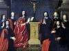 The Prevot des Marchands and the echevins of the city of Paris 1648 by Philippe de Champaigne