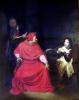 Joan of Arc and the Cardinal of Winchester 1824 by Paul Delaroche