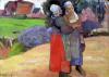 Breton Peasants 1894 by Paul Gauguin