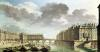 The Ile Saint-Louis and the Pont Marie in 1757 by Nicolas & Jean Baptiste Raguenet