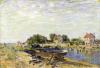 The Loing at Saint-Mammes 1885 by Alfred Sisley