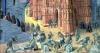 The Building of the Temple of Jerusalem c.1470 by Jean Fouquet