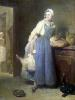 The Kitchen Maid with Provisions 1739 by Jean Baptiste Chardin