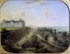 The Chateau de Meudon by Charles Leopold Grevenbroeck
