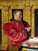 Portrait of Chancellor Guillaume Jouvenel des Ursins by Jean Fouquet
