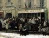 A Soup Kitchen during the Siege of Paris after 1870 by Henri Pille