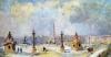 The Place de la Concorde Paris by Albert-Charles Lebourg
