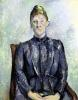 Madame Cezanne c.1885 by Paul Cezanne