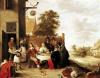 The Feast of the Prodigal Son 1644 by David Teniers the Younger