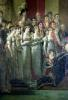 The Consecration of the Emperor Napoleon and Empress Josephine by Pope Pius VII by Jacques-Louis David