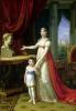 Elisa Bonaparte Grand Duchess of Tuscany by Pietro Benvenuti