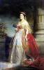 Mathilde Laetitia Wilhelmine Bonaparte 1861 by Claude-Marie Dubufe