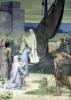 St. Genevieve Bringing Supplies to the City of Paris after the Siege by Pierre Puvis de Chavannes