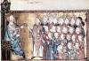 Louis X the Stubborn Giving the Charter to the Normans c.1340 by French School