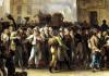The Conscripts of 1807 Marching Past the Gate of Saint-Denis by Louis-Leopold Boilly