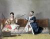 Monsieur Levett and Mademoiselle Helene Glavany by Jean-Etienne Liotard