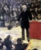 Georges Clemenceau Speech at the Cirque Fernando 1883 by Jean Francois Raffaelli