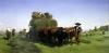 Haymaking Auvergne by Rosa Bonheur