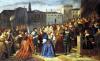 Scene of Confrontation from 'Lucretia Borgia' by Louis Boulanger