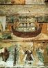 Noah's Ark During the Flood c.1100 by French School