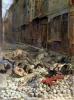 Barricade in the Rue de la Mortellerie 1848 by Jean-Louis Ernest Meissonier