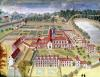 General View of the Abbey from 'l'Abbaye de Port-Royal' c.1710 by Louise Madelaine Cochin