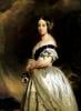 Queen Victoria 1842 by Franz Xavier Winterhalter