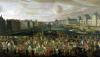Procession of Louis XIV Across the Pont-Neuf 1665 by French School