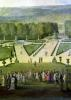 Promenade of Louis XIV by the Parterre du Nord c.1688 by Etienne Allegrain