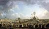 The Festival of the Supreme Being at the Champ de Mars 1794 by Pierre Antoine Demachy
