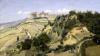 Volterra 1834 by Jean-Baptiste-Camille Corot