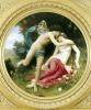 Flora and Zephyr 1875 by Adolphe William Bouguereau