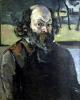 Self Portrait c.1873 by Paul Cezanne