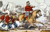 Giuseppe Garibaldi and his Volunteers Fighting the Prussians by French School