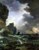 The Storm 1777 by Claude Joseph Vernet