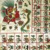Aztec Codex Borbonicus 'Tonalamatl' by Pre-Columbian Art