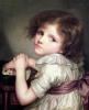 Child with a Doll by Anne Genevieve Greuze