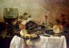Still Life with Fruit Pie 1635 by Willem Claesz Heda