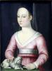 Portrait of Agnes Sorel by French School