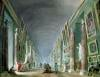 The Grand Gallery of the Louvre by Hubert Robert