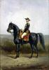Equestrian Portrait of General George Ernest Boulanger by Daniel Alexander Williamson