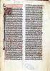 Page from the 'Somme de Theologie' by French School
