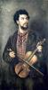 The Violin Player by Marcellin Gilbert Desboutin